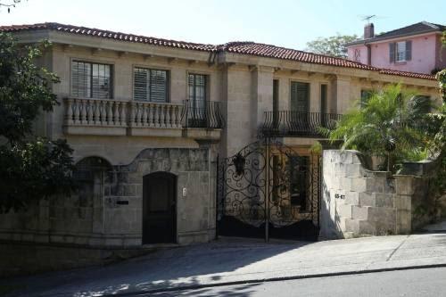 The mansion Villa del Mare in Sydney's Point Piper