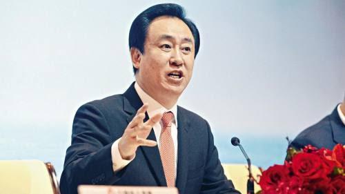 Evergrande chair Hui Ka Yan