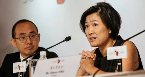 Zhang Xin and Pan Shiyi  of Soho China